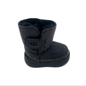 NWT UGG Keelan Glitter Booties Baby/Infant 0-6M